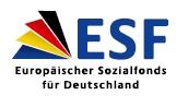 Logo der ESF