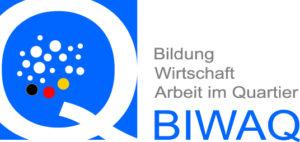 Logo Bildung, Wirtschaft und Arbeit im Quartier