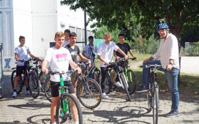Radausflug des Nachwuchsleistungszentrums der SpVgg Greuther Fürth