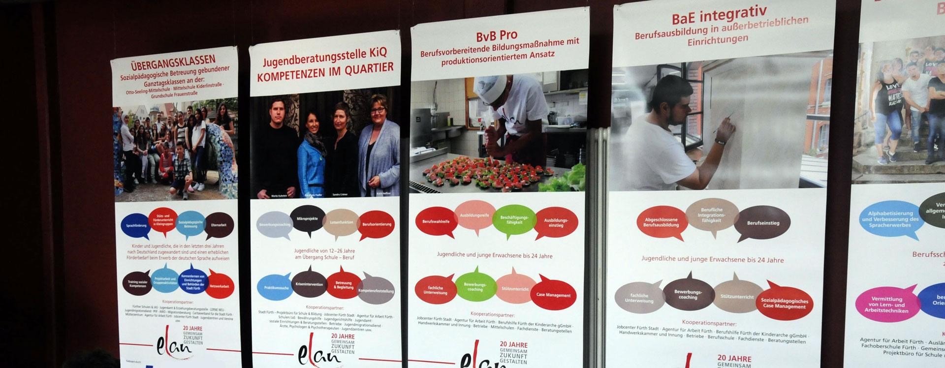 ELAN Projekte Banner