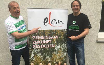 ELAN beglückwünscht den Kooperationsparter SpVgg Greuther Fürth zum Aufstieg und wünscht eine Erstligasaison mit ELAN